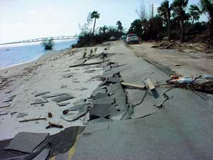 Miles of Indian River Drive in St. Lucie County were included in emergency repair work awarded to Ranger Construction after Hurricanes Frances and Jeanne.