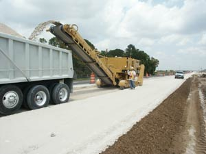 Ranger's I-4 widening project in Orlando, Florida.