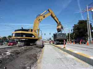Ranger Construction -- South's Commercial Boulevard improvement project in Ft. Lauderdale includes median reconstruction and turning-lane expansion.