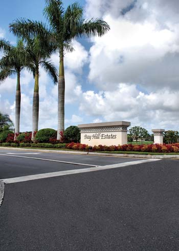 Bay Hill Estates is just one of many private Florida communities that recently turned to Ranger for its asphalt resurfacing needs.