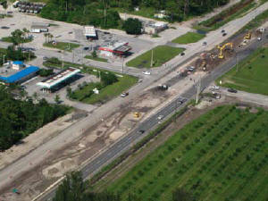Ranger Central's current projects include widening over two miles of SR-60, an east-west route in Vero Beach, FL, from four to six lanes under an $18.4 million contract with the FDOT. (Photo by Bob Schafer)