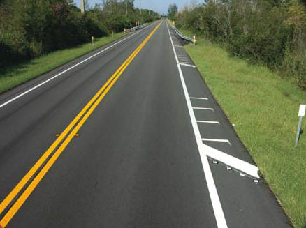 Award-winning projects completed by Ranger in 2010 included resurfacing a section of SR-786/PGA Blvd. in Palm Beach County, FL (above photo by Carl Thiemann), and improving 16th/17th Street in Indian River County (below photo by Jo Moore).