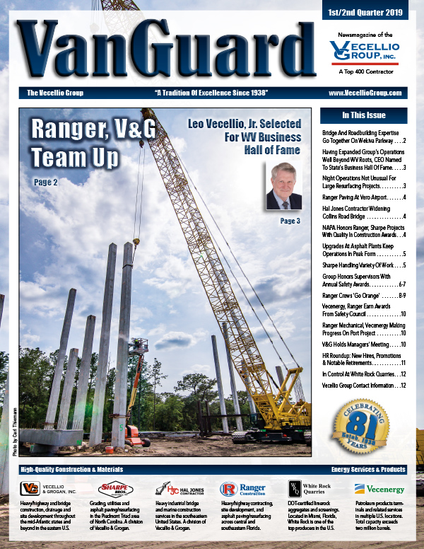 VanGuard 1st/2nd Quarter 2019 -- Published by Vecellio Group, Inc.