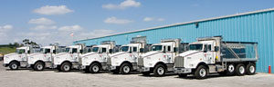 Extensive, Well Maintained Equipment Fleet