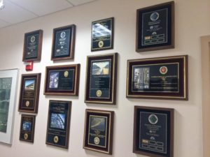 Wall-to-Wall-to-Wall Awards Showcase Ranger's High-Quality Workmanship